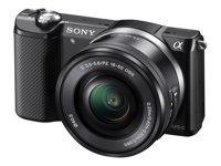 Sony PACK A5000L<br> ILCE-5000L<BR>+ Housse + Carte SD 8Go