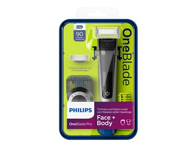 Philips OneBlade Pro QP6620 Face + Body