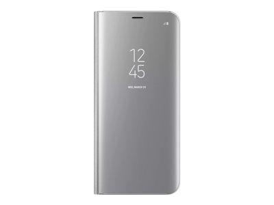 Samsung Clear View Standing Cover EF-ZG955pour Galaxy S8+  argenté