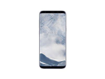 Samsung Clear Cover EF-QG955<br>pour Galaxy S8+  argenté