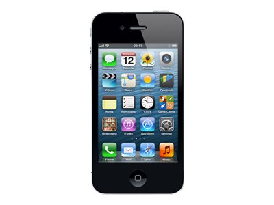Apple iPhone 4S  (reconditionné)<br>16 Go noir