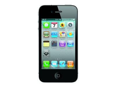 Apple iPhone 4 (reconditionné)<br> 16 Go noir