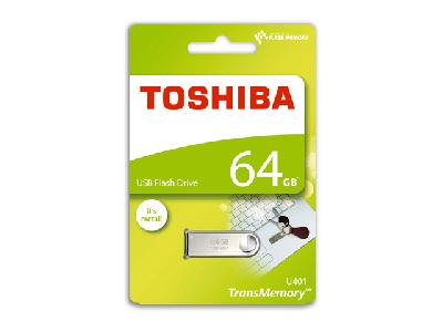 Toshiba TransMemory U401<br> Mini-Métal 64 Go