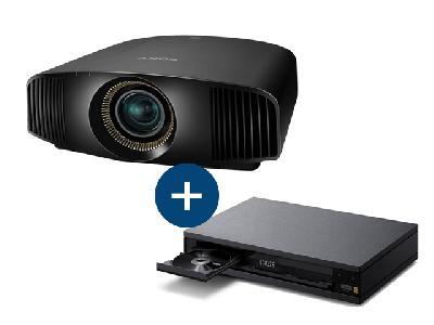 Sony Vidéoprojecteur VPL-VW360<br> + Lecteur Bluray  UBP-X1000ES