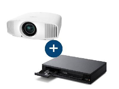 Sony Vidéoprojecteur VPL-VW260ES<br> + Lecteur Bluray  UBP-X1000ESVPL