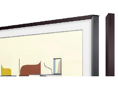 The Frame | Cadre PVC Noyer 65&quotVG-SCFN65DP