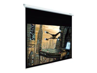Lumene Plazza HD 200C<br>Base 200 cm 16:9 -Fixation murale, plafond ou suspendu