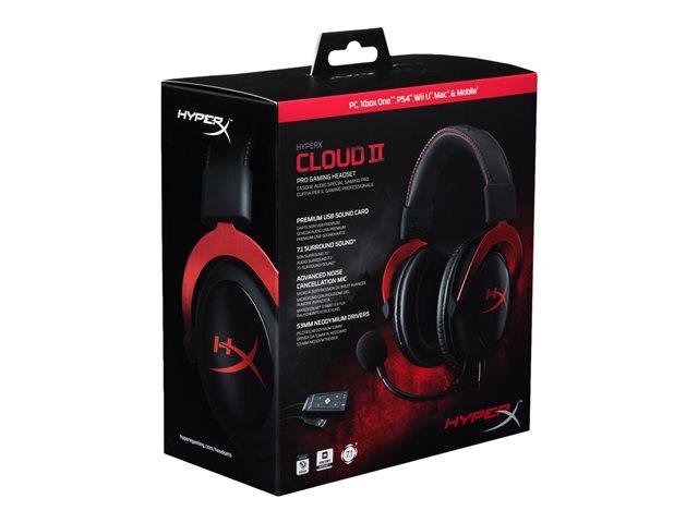 HyperX Cloud II Rouge