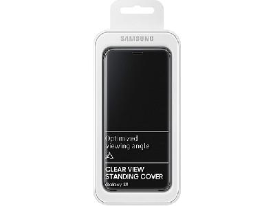 Samsung Clear View Standing Cover EF-ZG960<br>pour Galaxy S9