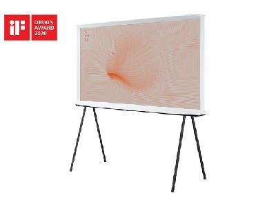 Samsung The Serif TV Blanc QE43LS01TAU
