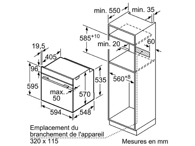 Bosch Serie 4 HBA553BR0
